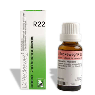 R22 NERVOUS DISORDERS DROP
