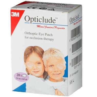 3M OPTICLUDE ORTHOPTIC EYE PATCH 5CM*6CM