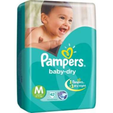 PAMPERS BABY DRY PANTS DIAPER (MEDIUM)