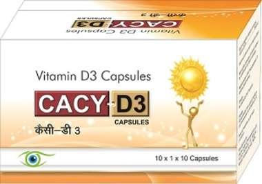 Cacy D3 2K Capsule