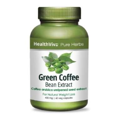HEALTHVIVA PURE HERBS GREEN COFFEE EXTRACT CAPSULE