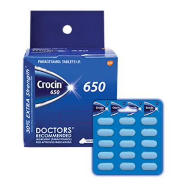 CROCIN 650 MG TABLET