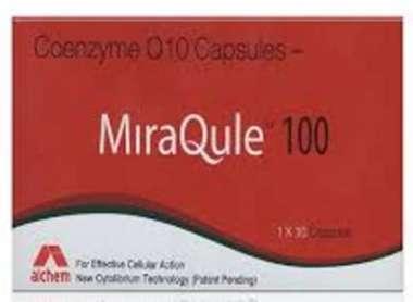 MIRAQULE 100 MG SOFT GELATIN CAPSULE