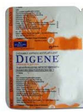 DIGENE ORANGE TABLET ORANGE