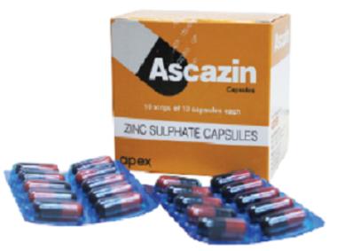 ASCAZIN 220MG CAPSULE