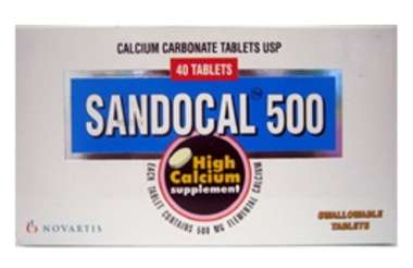 SANDOCAL 500 REGULAR TABLET