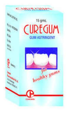 CUREGUM GUM ASTRINGENT