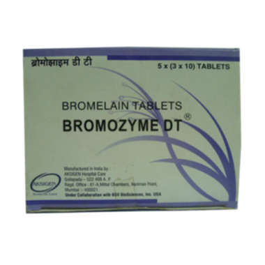 BROMOZYME DT  TABLET