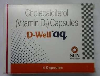 D-WELL AQ 60000IU CAPSULE