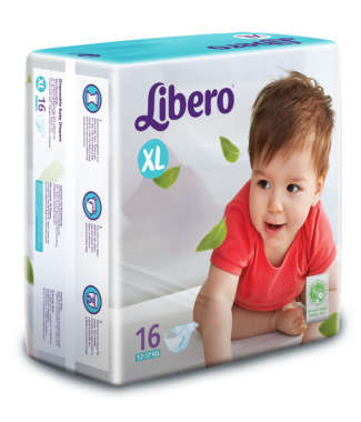 LIBERO OPEN DIAPER XL