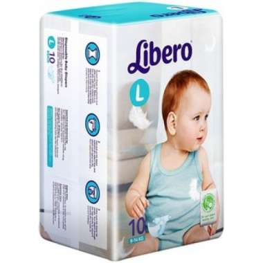 LIBERO OPEN DIAPER LARGE