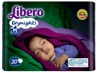 LIBERO DRYNIGHTS DIAPER MEDIUM