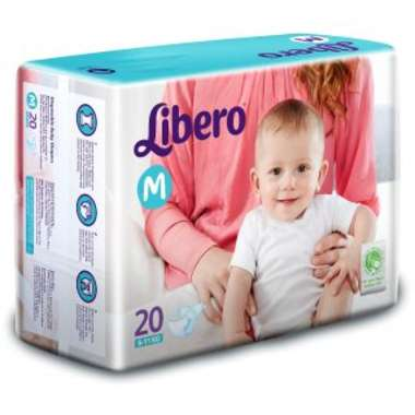 LIBERO OPEN DIAPER MEDIUM