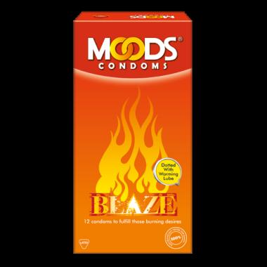MOODS BLAZE CONDOM