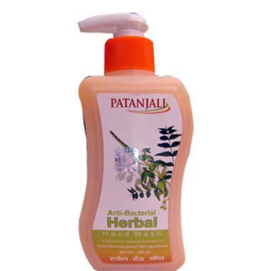 PATANJALI ANTI BACTERIAL HERBAL HANDWASH