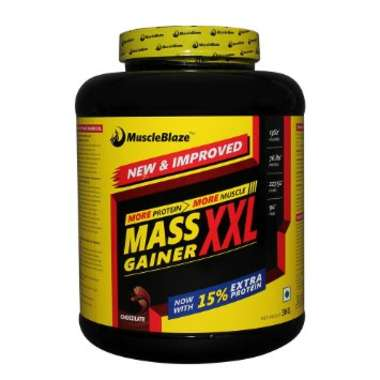 MUSCLEBLAZE MASS GAINER XXL POWDER CHOCOLATE