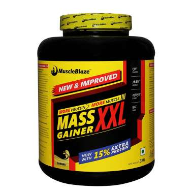 MUSCLEBLAZE MASS GAINER XXL POWDER BANANA