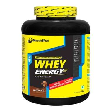 MUSCLEBLAZE WHEY ENERGY POWDER CHOCOLATE