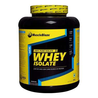 MUSCLEBLAZE WHEY ISOLATE POWDER CHOCOLATE