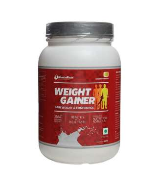 MUSCLEBLAZE WEIGHT GAINER POWDER CHOCOLATE