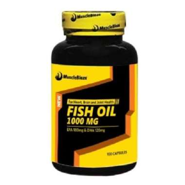 MUSCLEBLAZE FISH OIL SOFT GELATIN CAPSULE