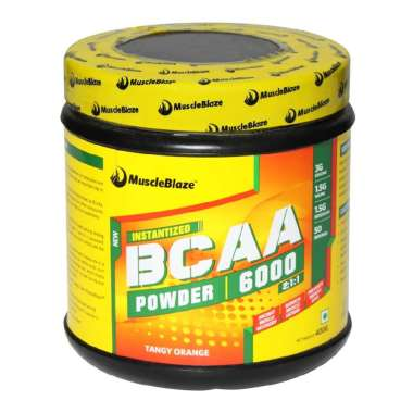 MUSCLEBLAZE BCCA 6000 POWDER ORANGE