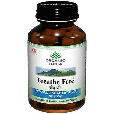 ORGANIC INDIA BREATHE FREE   CAPSULE