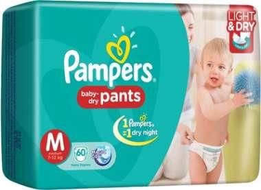 PAMPERS BABY DRY PANTS MEDIUM