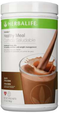 HERBALIFE FORMULA 1 NUTRITIONAL SHAKE MIX DUTCH CHOCOLATE
