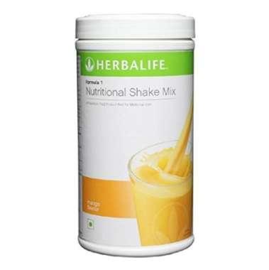 HERBALIFE FORMULA 1 NUTRITIONAL SHAKE MIX POWDER MANGO