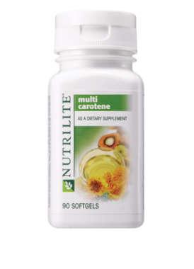 NUTRILITE MULTI CAROTENE SOFTGELS