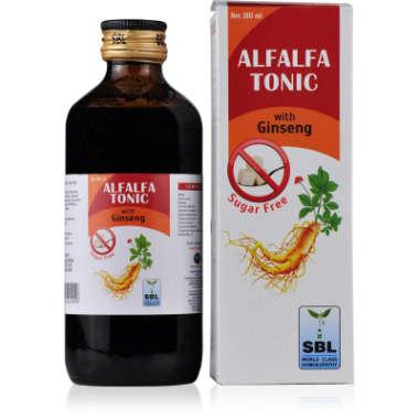 ALFALFA TONIC SUGAR FREE