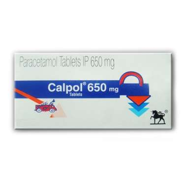 CALPOL 650 MG TABLET