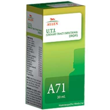 A71 URINARY TRACT INFECTIONS (U.T.I.) DROP
