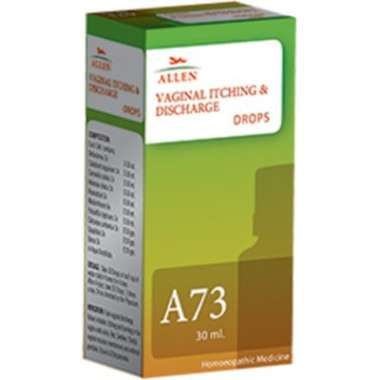A73 VAGINAL ITCHING & DISCHARGE DROP