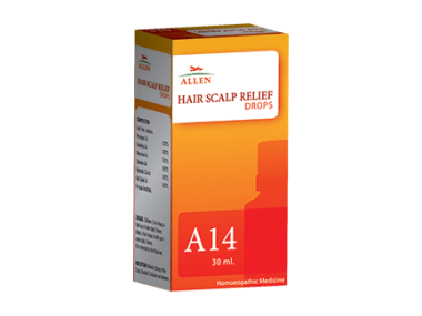 A14 HAIR SCALP RELIEF DROP