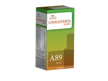 A89 CHOLESTEROL DROP