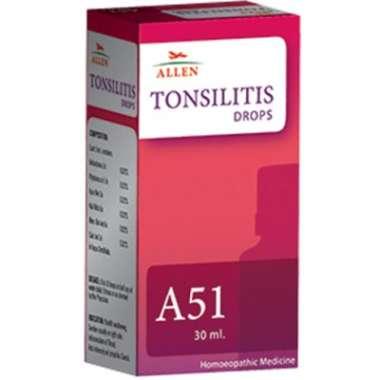 A51 TONSILITIS DROP