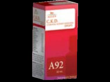 A92 C.K.D.(CHRONIC KIDNEY DISEASES) DROP