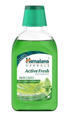 HIMALAYA ACTIVE FRESH MOUTH WASH MINT