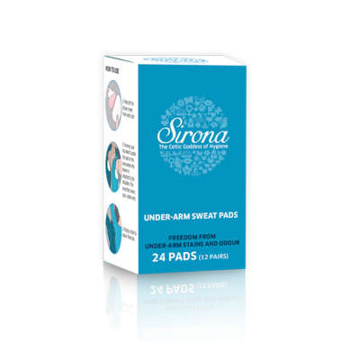 SIRONA UNDER-ARM SWEAT  PADS