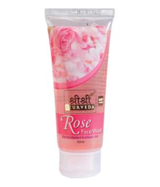 SRI SRI AYURVEDA ROSE FACE WASH
