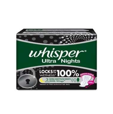 WHISPER ULTRA NIGHTS XXXL WINGS PADS