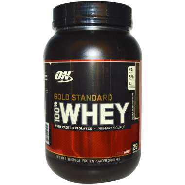 ON GOLD STANDARD 100% WHEY POWDER COOKIES & CREAM