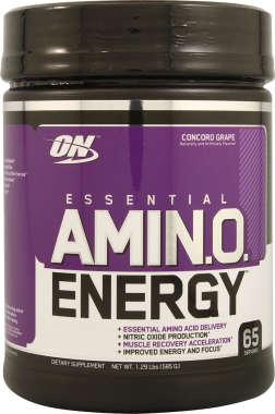 ON AMINO ENERGY POWDER CONCORD GRAPE