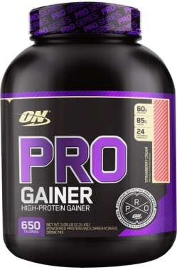 OPTIMUM NUTRITION PRO GAINER STRAWBERRY
