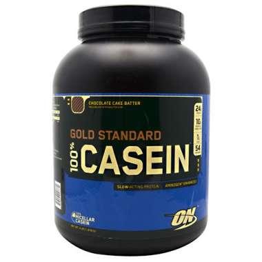 ON GOLD STANDARD 100% CASEIN POWDER CHOCOLATE CAKE BATTER