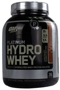 ON PLATINUM HYDRO WHEY POWDER CHOCOLATE PEANUT BUTTER