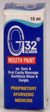 G 32 MOUTH PAINT