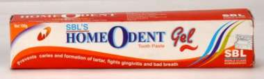 HOMEODENT TOOTH PASTE  GEL
